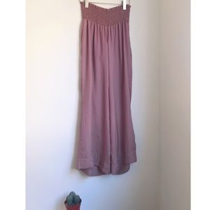 Show me your MuMu pants flare pink pale M-L